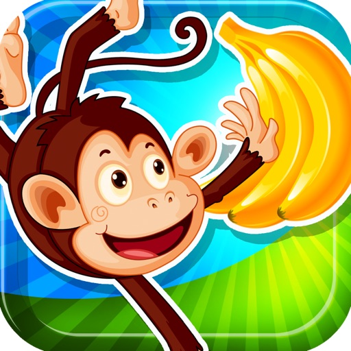 A Monkey Banana Vine Free Balloon Game