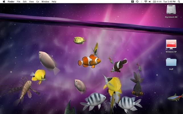 Desktop Aquarium 3D LIVE Wallpaper ScreenSaver On The Mac App Store