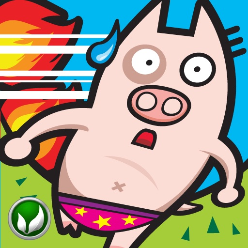 Speedy Pigs - HIGH SPEED WARNING!