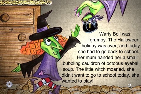 Warty the Witch and the Vanishing Voice by iOrbi LLC