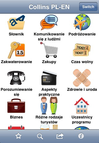Collins English<->Polish Phrasebook & Dictionary with Audio