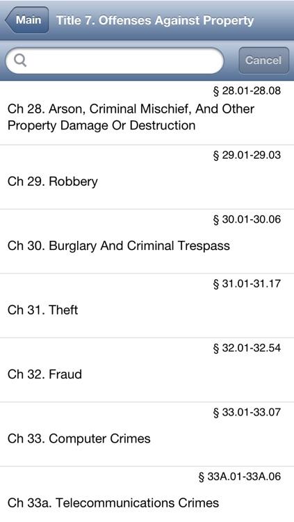 TX Penal Code 2016 - Texas Law screenshot-4