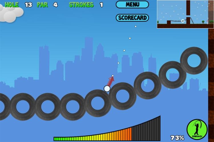 Trick Shot Golf Lite screenshot-3