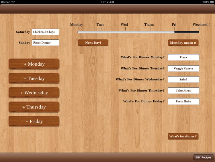 Meal Planner screenshot-1
