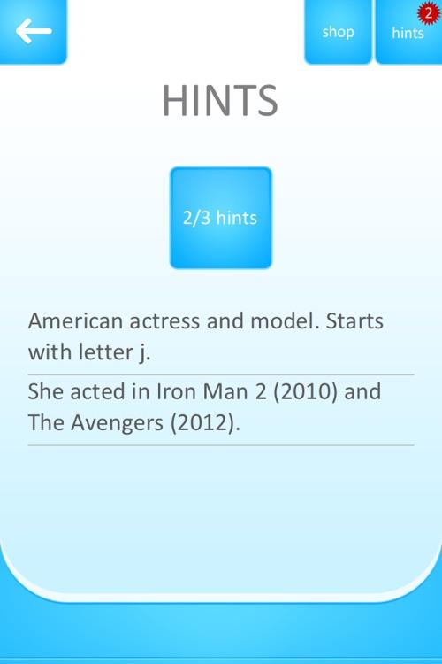 Celebrity Quiz Game screenshot-3