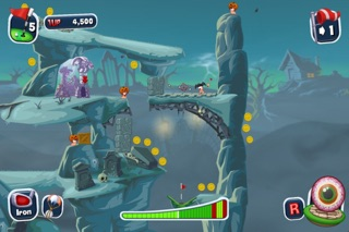 Worms Crazy Golf Screenshot 3