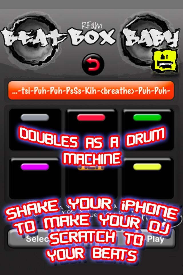 Beat-Box Baby: Trainer and Voice Drum Machine HOT Screenshot