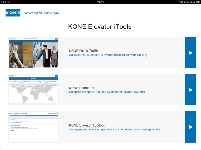 KONE Elevator iTools on the App Store