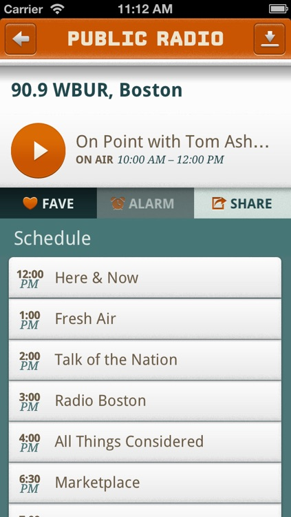 Public Radio Player screenshot-2