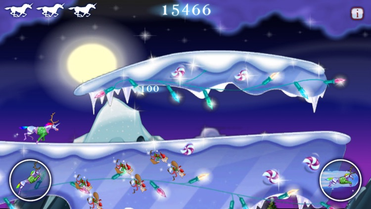 Robot Unicorn Attack Christmas Edition