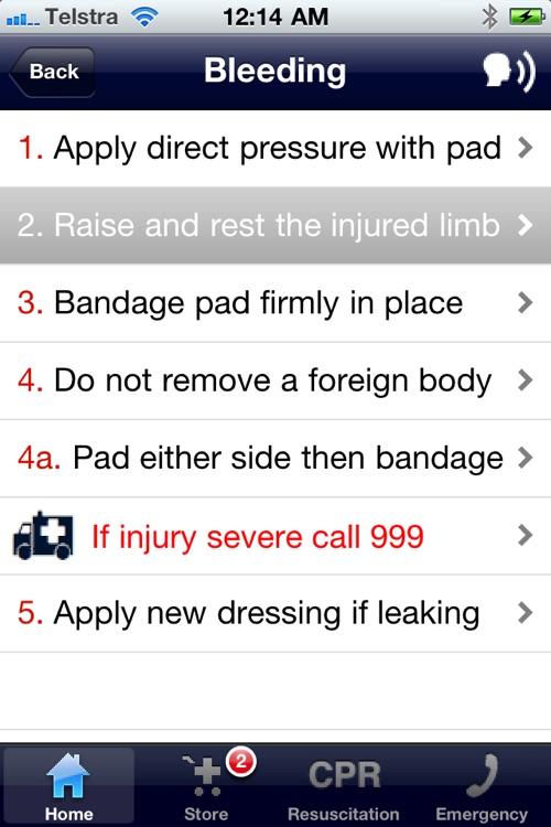 First Aid Emergency Handbook - Lite screenshot-3