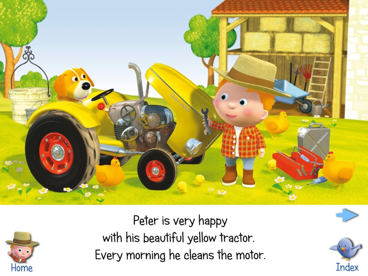 LITTLE BOY -  PETER'S TRACTOR HD