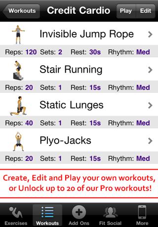点击获取Cardio Workouts Free