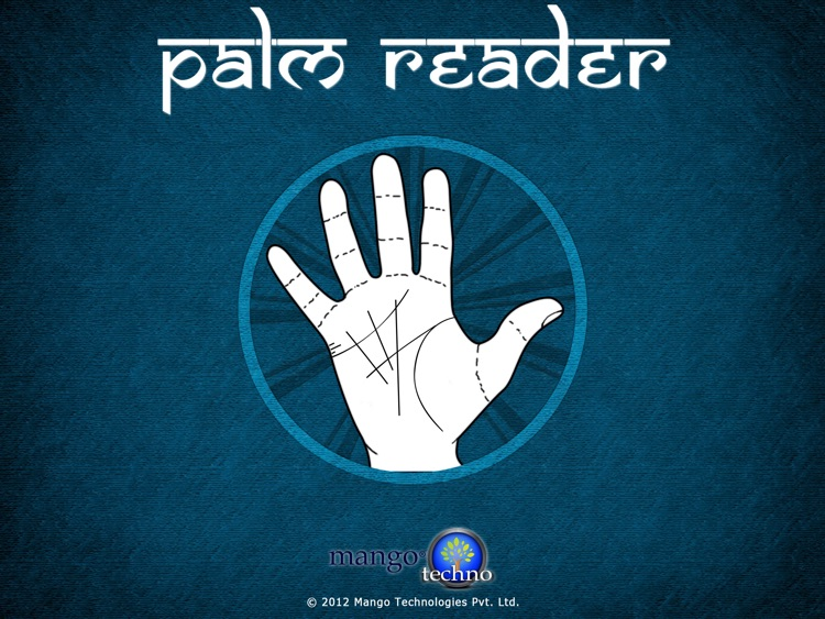 Palm Reader : Scan Your Future
