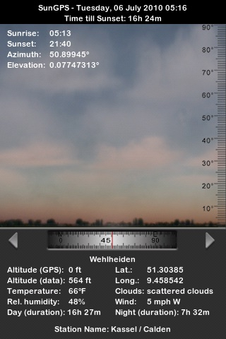 SunGPS screenshot-3