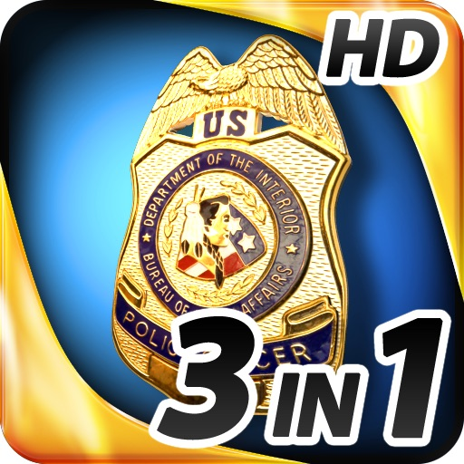 Hidden Objects - 3 in 1 – Crime Scene Pack HD icon