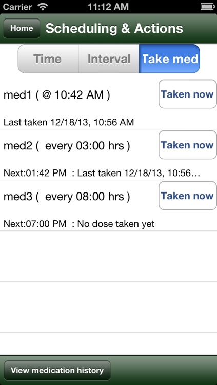 Voice med reminder lite screenshot-3