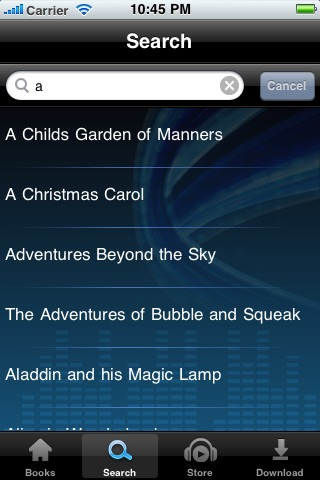 Audio Books for Kids screenshot-2