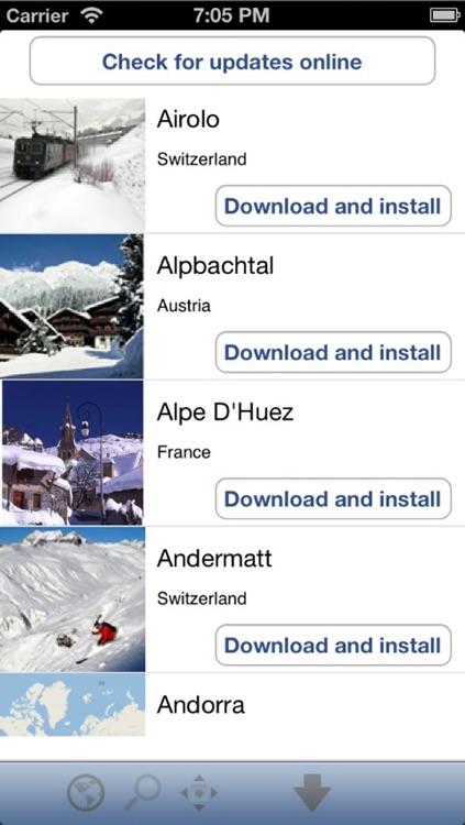 Famous Ski Areas Europe screenshot-3
