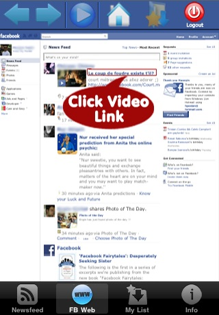 Video Player and Downloader for Facebook screenshot-4
