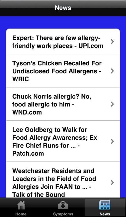 Food Allergy Info screenshot-3