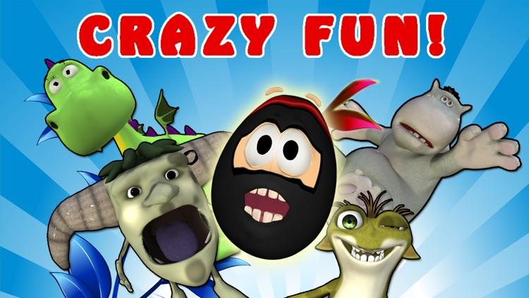 Crazy Ninja Egg Clumsy Jump