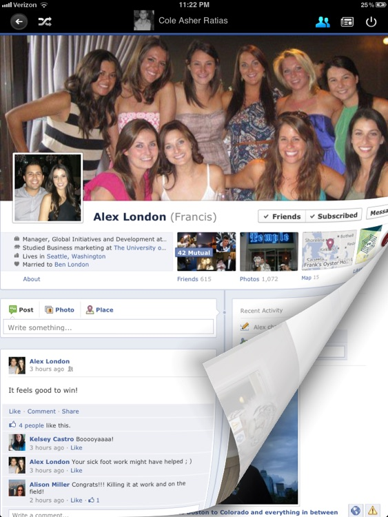 Flip for Facebook (formerly Timeline) screenshot-3