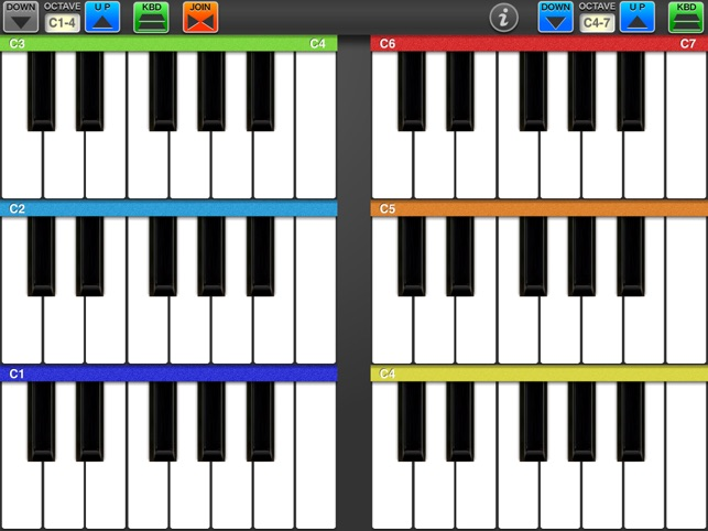 6 Octaves Piano On The App Store