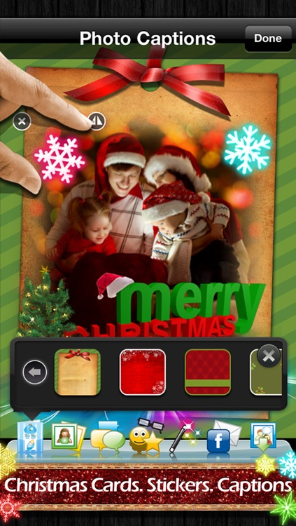 Photo Captions Free: Frames, Cards, Collage, Text & more screenshot-2