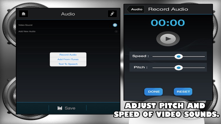 Video Voice Editor Lite screenshot-1