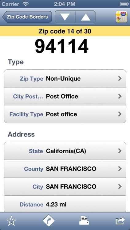 US Zip Codes Premium
