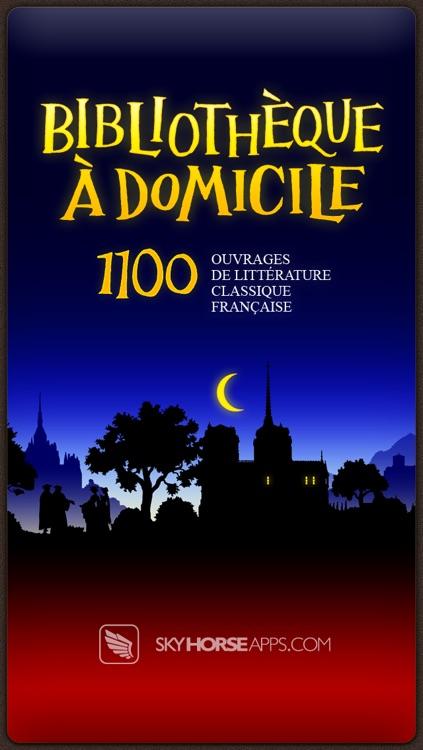 Bibliothèque à Domicile - La Littérature Française - 1100 Livres - French Home Library - 1100 Books