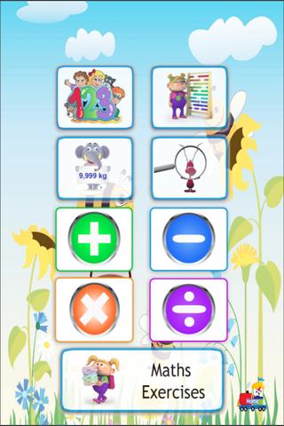 儿童数学学前教育免费版 screenshot one
