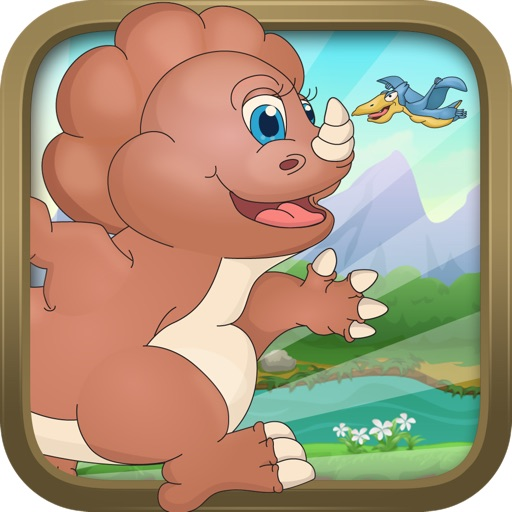 Baby Dino Run - Fun Running Dinosaur Kids Game icon