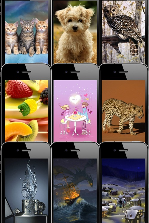 HD Wallpapers & Backgrounds for iPhone/iPod touch Pro screenshot-0