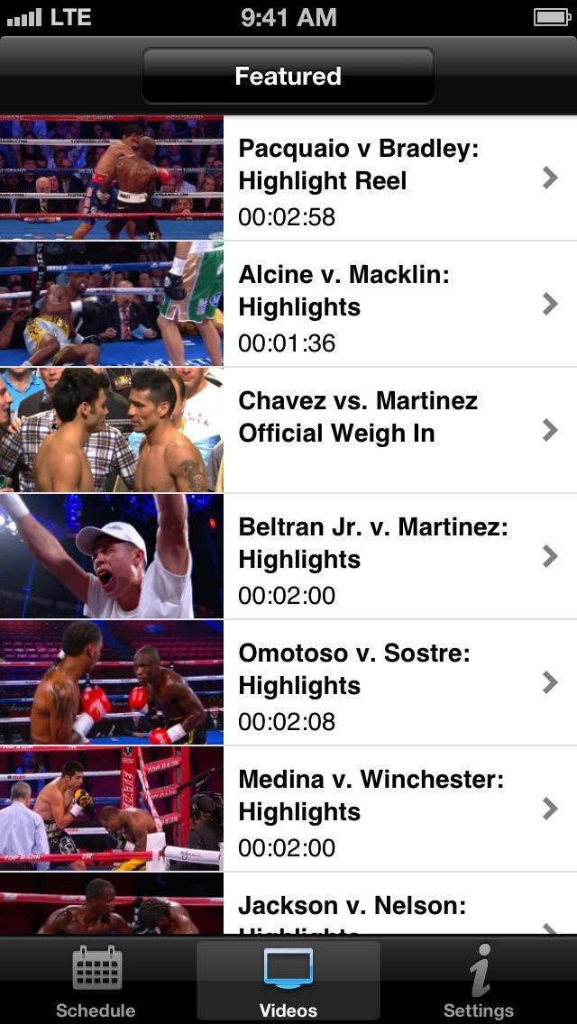 Top Rank TV Screenshot