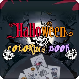 Halloween Spooky Coloring Book for Kids