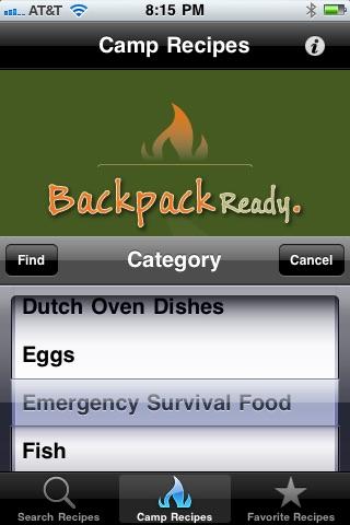 Camp Recipes!