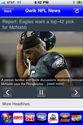Qwik NFL News screenshot-1