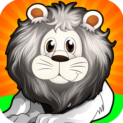A White Lion Chase Animal Game Pro Full Version