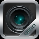 Grid Cam – grid with spirit level