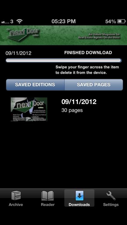 The Next Door Online Mobile screenshot-3