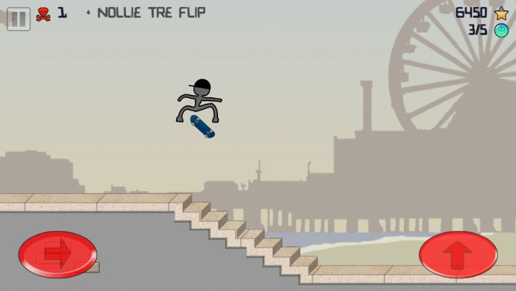 Stickman Skater screenshot-1