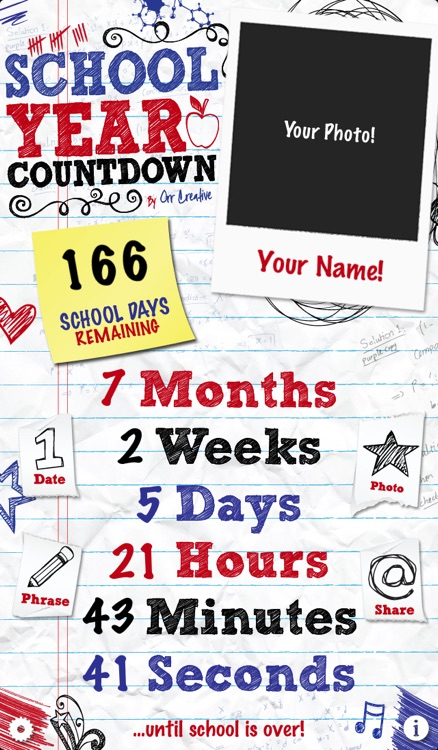 School Year Countdown screenshot-0
