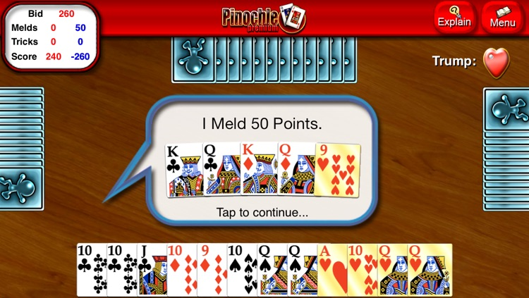 Pinochle HD screenshot-2