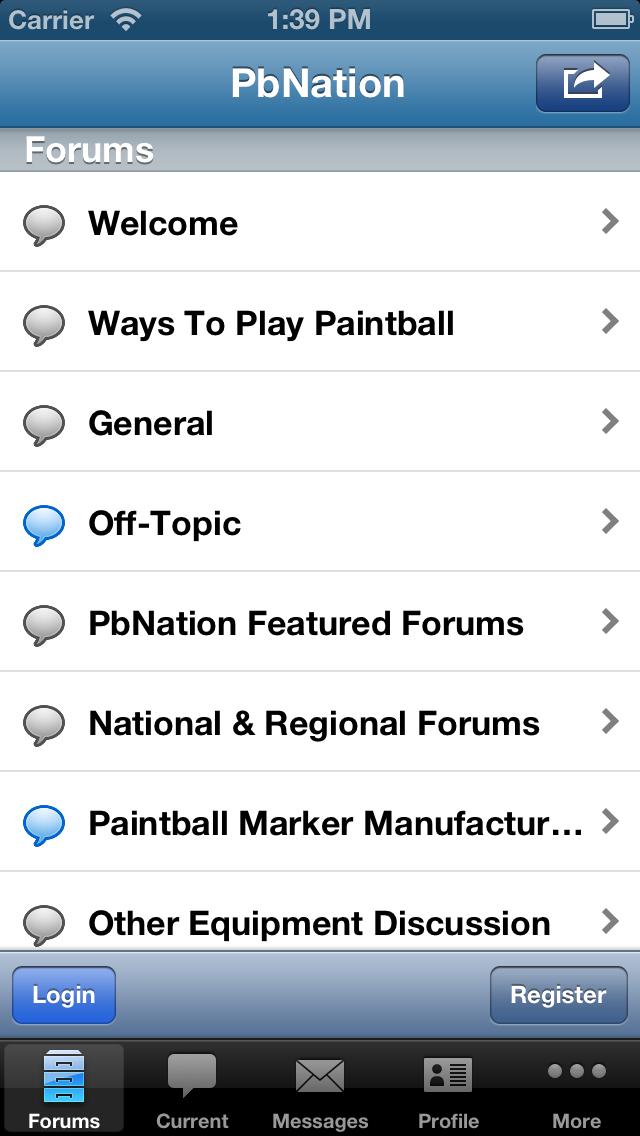 PbNation Connect Screenshot