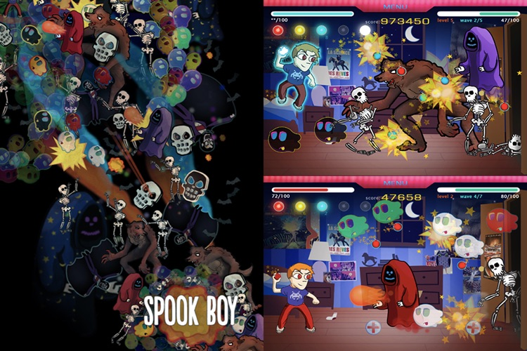 Spook Boy: Monsters, ghouls and ghosts