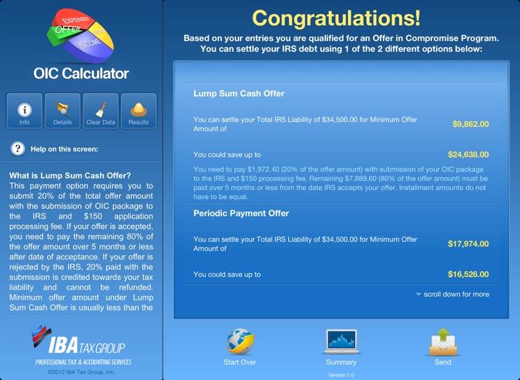 OIC Calculator for iPad screenshot-4