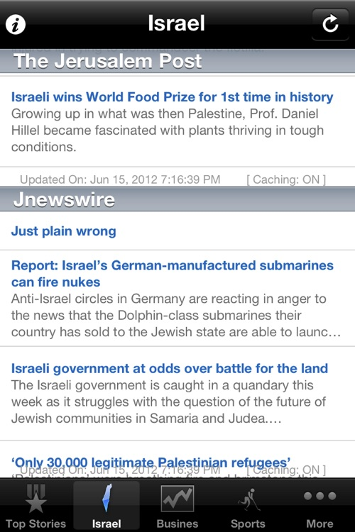 Israel News, Israeli Paper screenshot-0