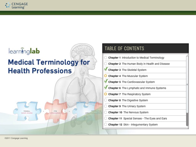 Medical Terminology for Health Professions Learning Lab screenshot-0